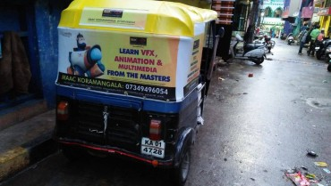 Auto Rickshaw Advertising in JP Nagar, Bangalore