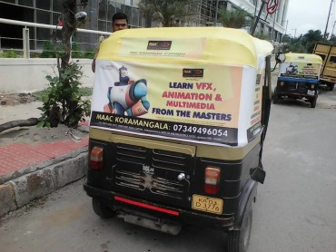 Auto Rickshaw Advertising in Jayanagar, Bangalore