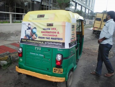 Auto Rickshaw Advertising in Electronic City, Bangalore