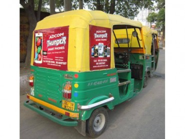 Auto Rickshaw Advertising in HSR Layout, Bangalore